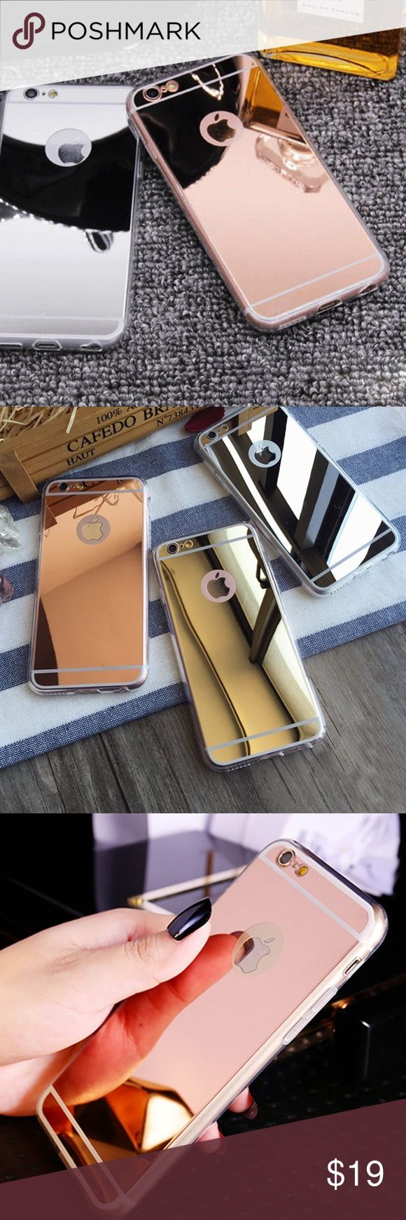 New Mirror iPhone 6 / 6s Case Silver, Gold, & Pink Brand new! I don't trade, price firm unless bundled! Accessories Phone Cases