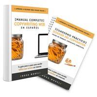 El primer libro copywriting en español. +200 páginas y un dossier práctico con checklists y hojas de trabajo. Aprende a escribir para vender online.