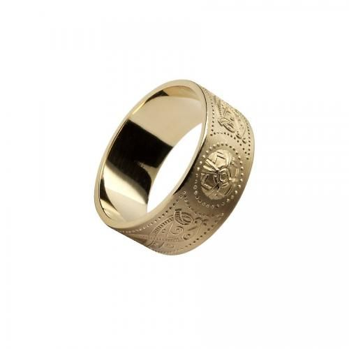 Laoghaire Warrior Ring-14K Gold