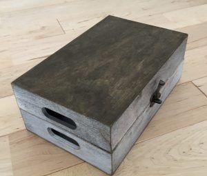 100均DIY♪TVやWii Uの配線を自作のケーブルボックスでスッキリと隠す。インテリアになじむ配線ボックスカバーの作り方。