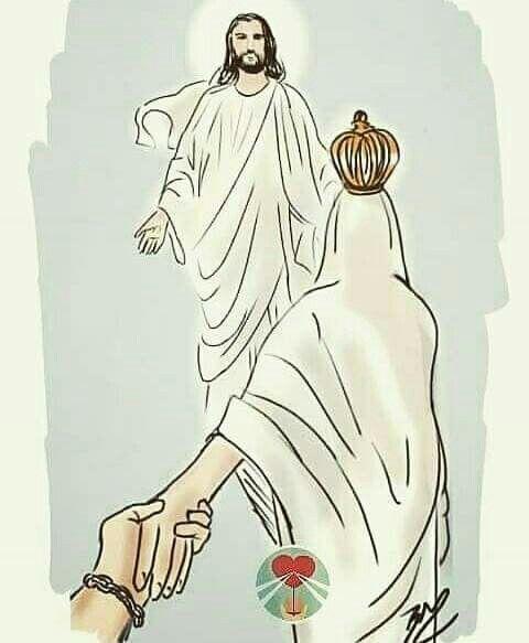 María nos lleva a Jesús...