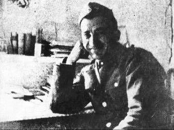 Ο Νίκος Μπελογιάννης μαχητής στον Δημοκρατικό Στρατό