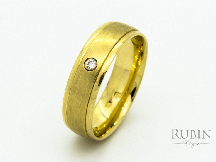 Arany cirkónia köves karikagyűrű