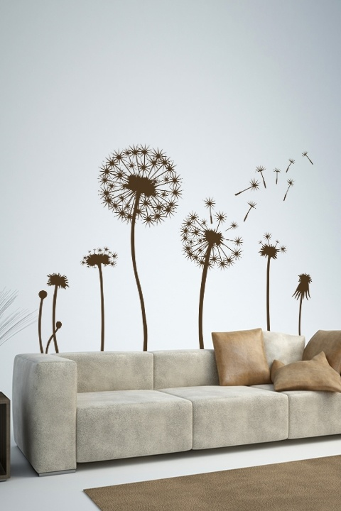 dandelion cyclewall decals