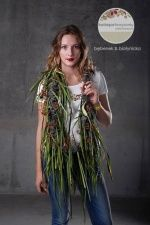 FIESTA GARDEN, show M.Bębenek & M.Biruli-Białynickiej. Moda w kwiatach, kwiaty w modzie, fot. M.Chruściel.