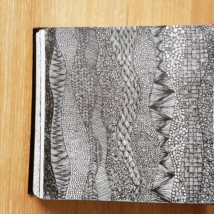 Structure. (@_barboring) #illustration #drawing #sketchbook #pattern #patterndesign #sketch #art #structure