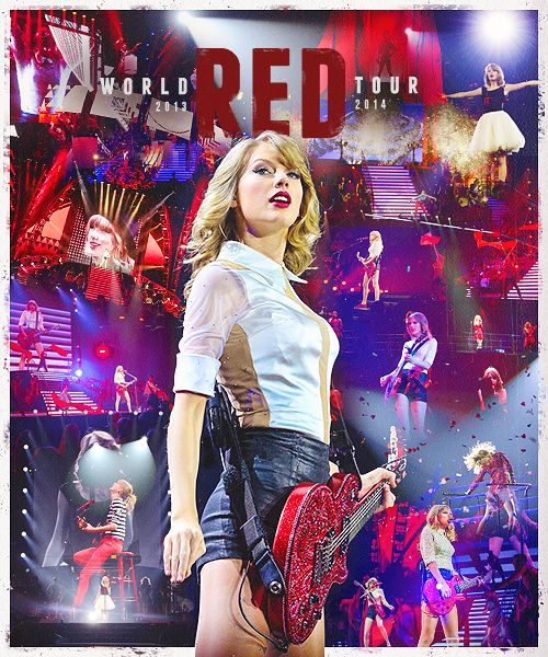 Taylor Swift: RED Tour 2013-2014 ♥