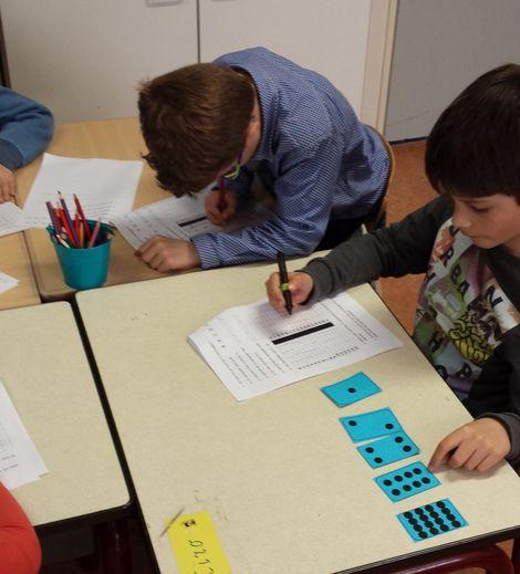 Een les om binair te leren tellen.
