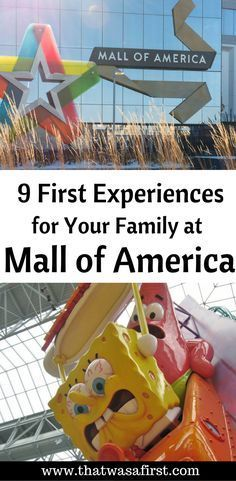 Here are 9 things that your family can do only at the Mall of America!