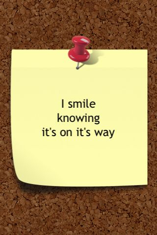 people who smile to themselves KNOW that there is more out there and within themselves