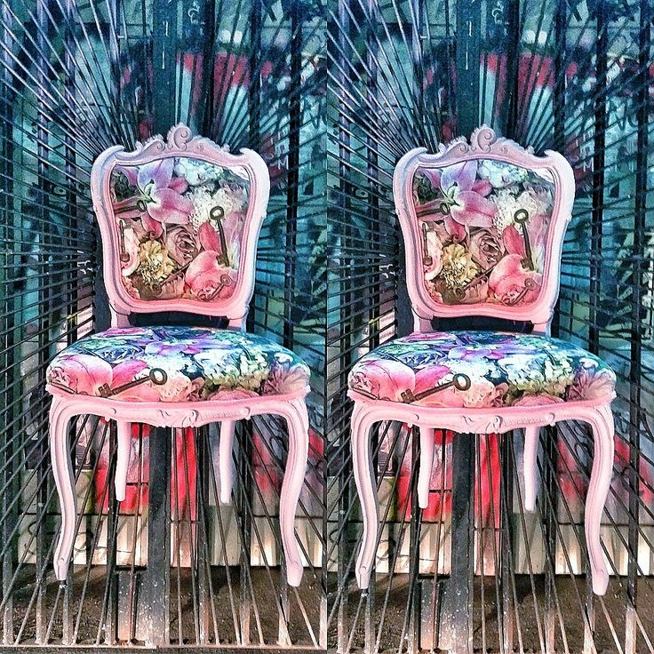 Pink rococo chairs from Sweden. Handmade. Order here : Lynn@bvndesign.se