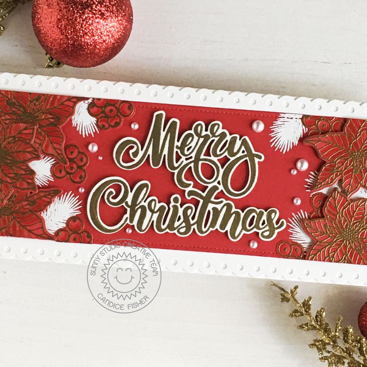 Sunny Studio stampsmerry christmas! in 2020 Merry