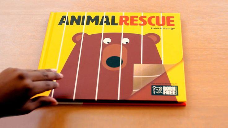 Ressam Patrick George'un hazırladığı Rescue Animal (Hayvan Kurtarma) isimli çocuk kitabı 'hayvanları koruma' kavramını minik dostlarımıza çok küçük yaşlarda eğlenceli bir şekilde aktarıyor. Detaylar ajanimo.com'da.. #ajanimo #ajanbrian #hayvan #animal