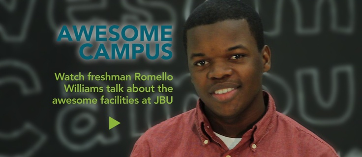 John Brown University's campus is ideally located. Seriously.  Click on the video to see why.