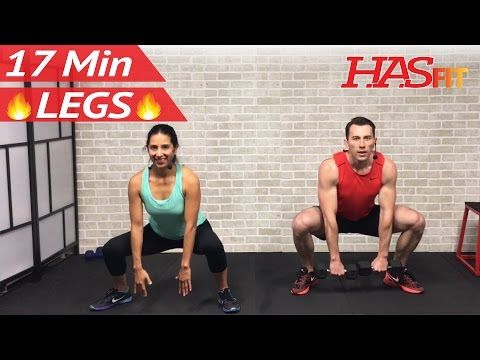 17 Min Home Leg Workout Routine - Legs Thighs Buttocks Workout for Women & Men Lower Body Exercises - YouTube
