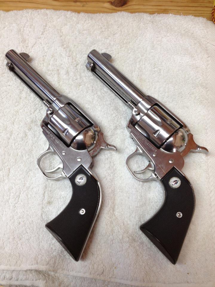 Ruger SASS Vaqueros in .357 Magnum