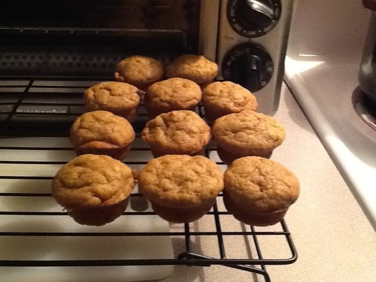 Toddler Muffins Made Easy!!!  My improved recipe uses jarred babyfood and baby cereal. So easy. And yummy.