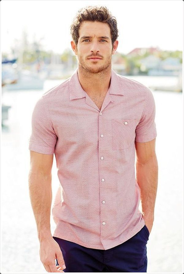 Mens Short Sleeve Shirts: 40 Ways to Wear It in Style