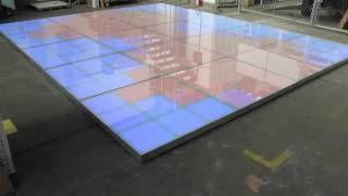 Ness Technology Pistas - YouTube Pista de 27 canales DMX, fabricada en aluminio, terminada en cristal templado. Medida 1.22 x 1.22 m, cada módulo. #led dance floor #pista de baile #pista iluminada led #pista led #iluminacion led #led dance floor #led furniture #led template