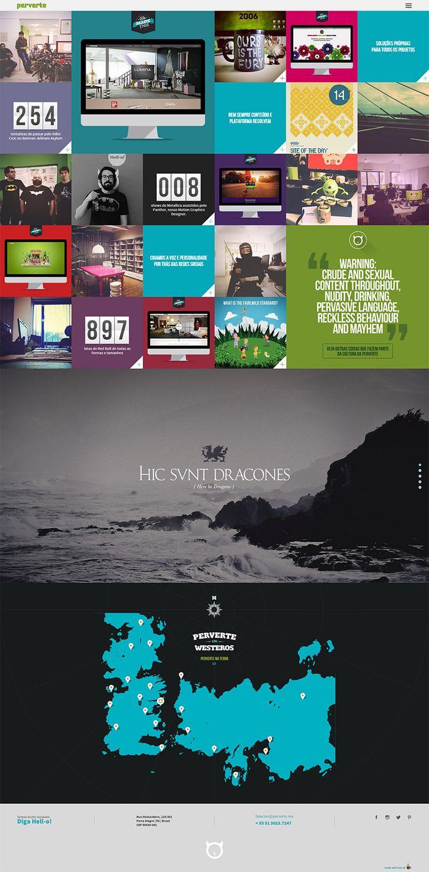 Perverte 2014 #webdesign