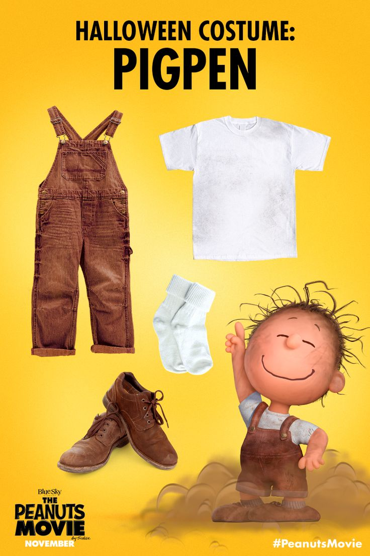 All you need is this outfit and a whole lot of dust! Who's going as PigPen this Halloween?