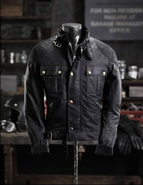 Belstaff BrookLands with body armour. This is my main motorbike jacket.  #MotorcycleApparel
