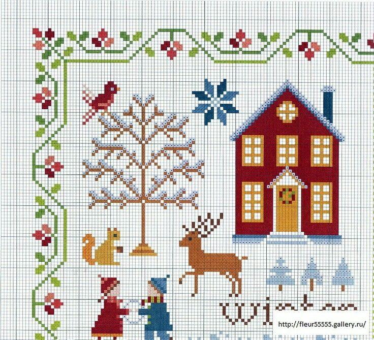 Casa invierno - winter house