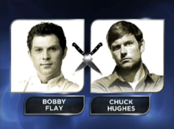 Iron Chef America: Chuck Hughes Takes on Bobby Flay | Devour The Blog: Cooking Channel's Recipe and Food Blog