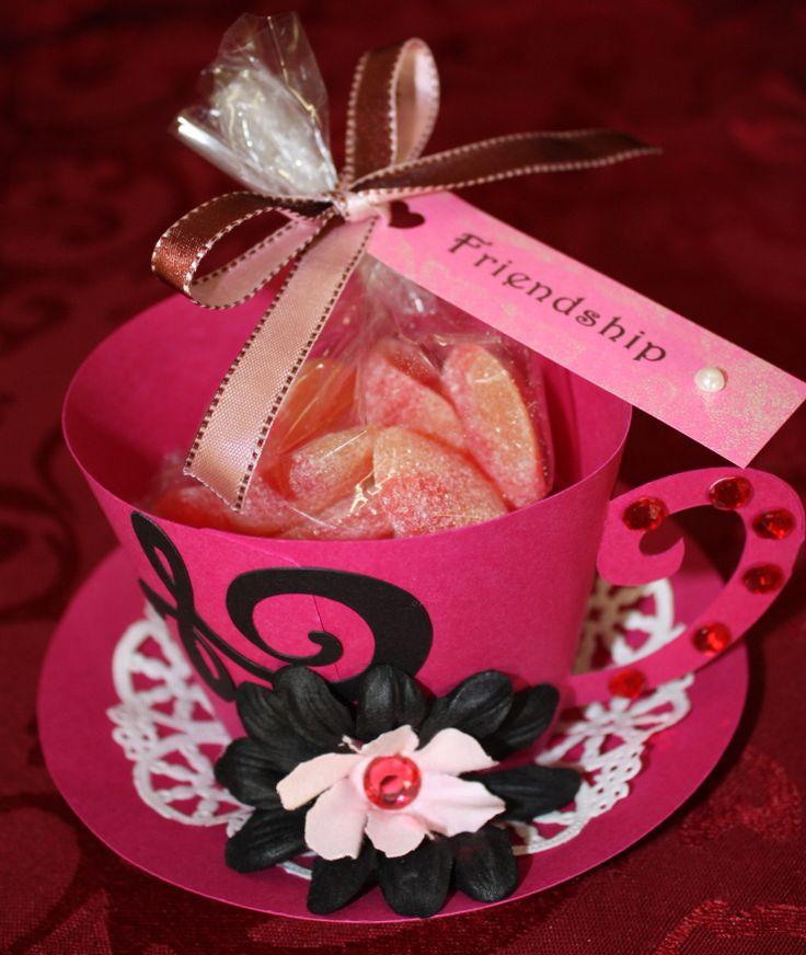Tea Cup Party Favor Made With Cricut Craft Ideas