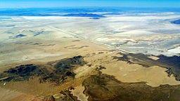 TheBonneville Salt Flatsis a densely packedsalt paninTooele Countyin northwesternUtah
