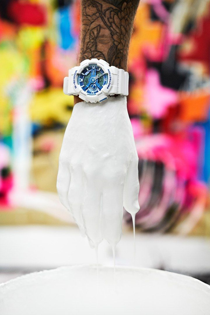 G-Shock White and Blue by Olav Stubberud-2
