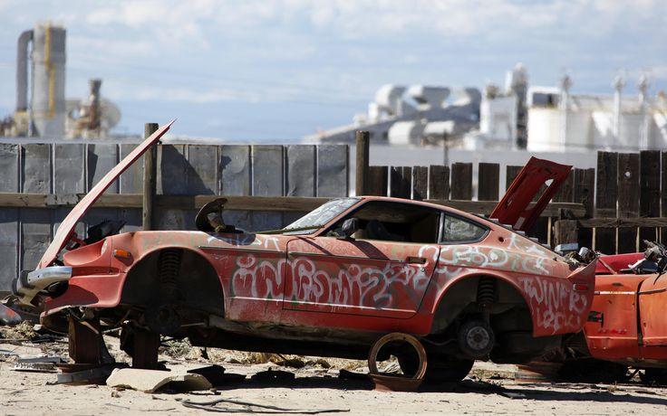 junkyard-vintage-cars-turners-auto-wrecking-fresno ...