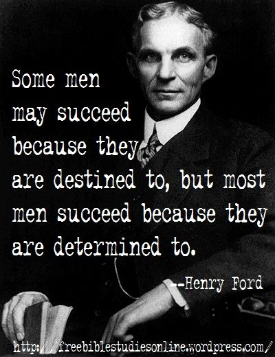 the genius mind of henry ford Then take a closer look at the hard-knock story of henry ford's early  still  believing in ford's genius, he agreed, and together they formed the henry ford   he had taken apart these failures in his mind and had identified the.