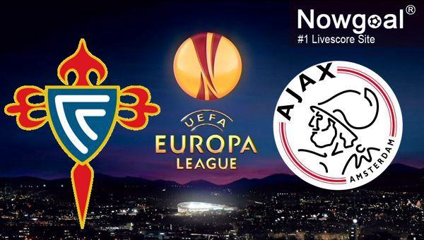 UEFA Europa League / Celta Vigo VS AFC Ajax -- AFC Ajax 0.5 @ 1.85.
