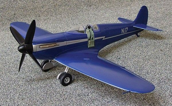 Supermarine Speed Spitfire. Marsh Models/Aerotech, 1/32, resin, initial release 2013, No.32018. Price: Not Sold.