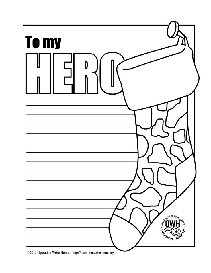 military thank you coloring pages - photo#34