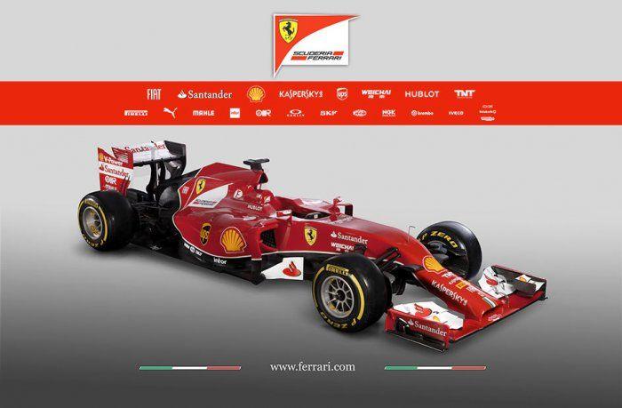 #Formula1: la #Ferrari toglie i veli alla nuova F14 T