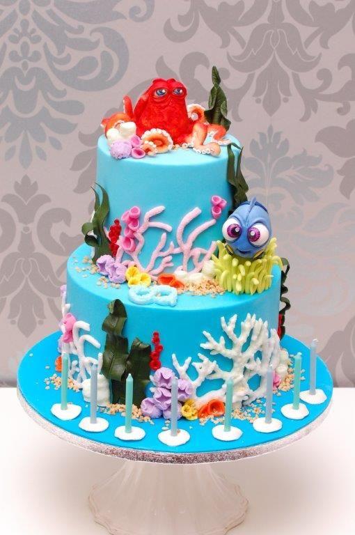 Unterwasserwelt Cakedesign Cupcakesmanufaktur