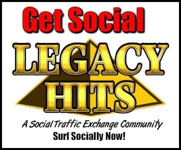 Legacy Hits - Traffic Exchange - Social Advertising Platform