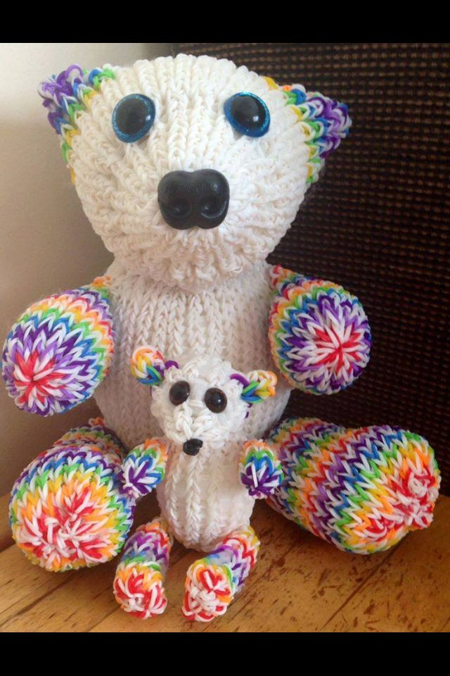 Relativ 307 best Rainbow Loom Animaux et autres images on Pinterest  HI02