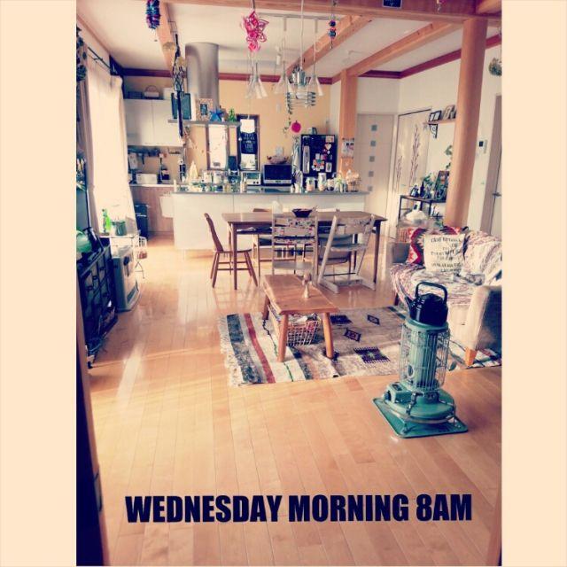 トリップトラップ/ローテーブル/IKEA/ネイティブラグ/ガラムカール/野田琺瑯…などのインテリア実例 - 2014-12-24 00:37:27 | RoomClip(ルームクリップ)