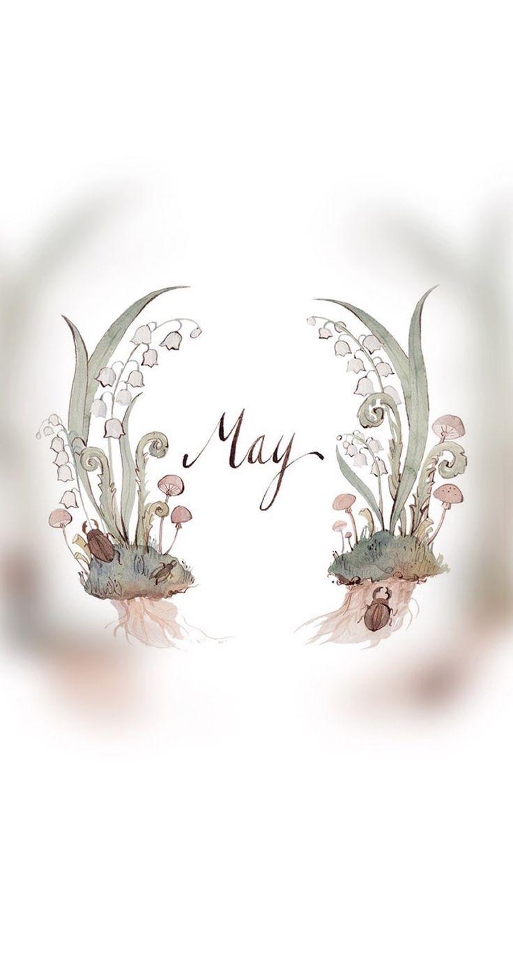 #may #month #flower #floral #wrath #background #wallpaper #hd #iphone #sony #samsung #nokia #motorola #cute #simple #highres #artsy #sweet