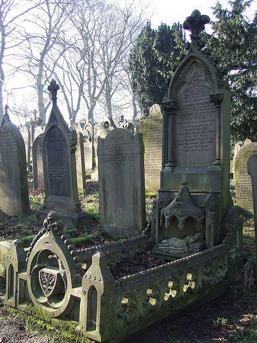 Taken in Haworth Churchyard, in Yorkshire.