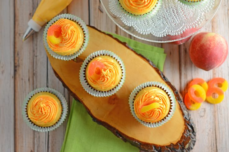 Peach Cupcakes embody all that is summer. Sweet and juicy peaches make these light cupcakes with peach cream cheese frosting just perfect!