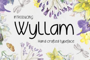 http://Introducing Wyllam, a hand crafted typeface.br /br /The Wyllam font offers lower and upper cases, both extended with European characters, numbers, punctuation and currency symbols.