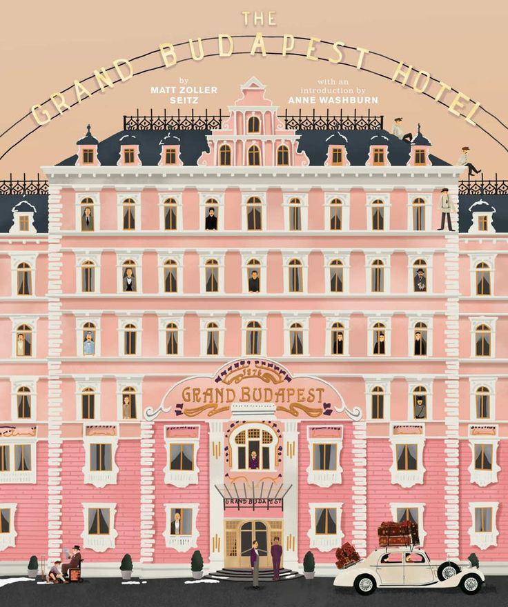 Illustrations and cover art by Max Dalton This companion to the New York Times bestselling book The Wes Anderson Collection takes readers behind the scenes of the Oscar®-winning film The Grand Budapes