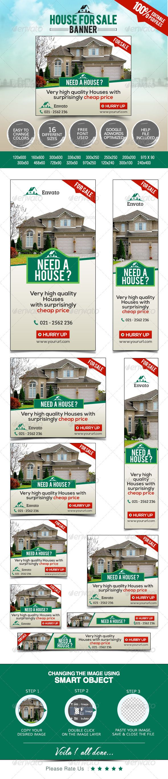 best images about real estate marketing open real estate web banners template psd buy and graphicriver
