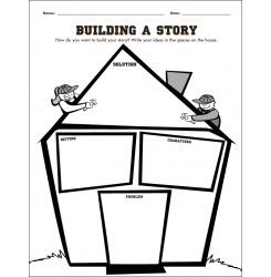 writing a story graphic organizers elementary
