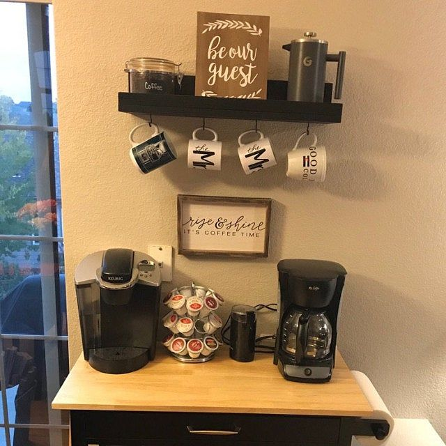 Coffee Mug Shelf With Hooks Hanging Mug Rack Coffee Cup Mug Rack Coffee Mug Holder Coffee Bar Shelf Organizer In 2020 Mpar