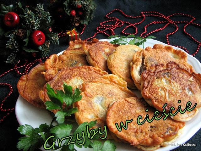 Smaczna Pyza: Grzyby suszone smażone w cieście - http://smacznapyza.blogspot.com/2012/12/grzyby-suszone-smazone-w-ciescie.html